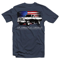 1981-1993 First Gen Dodge Ram | Cummins Truck T-Shirt | Aggressive Thread Truck T-Shirts