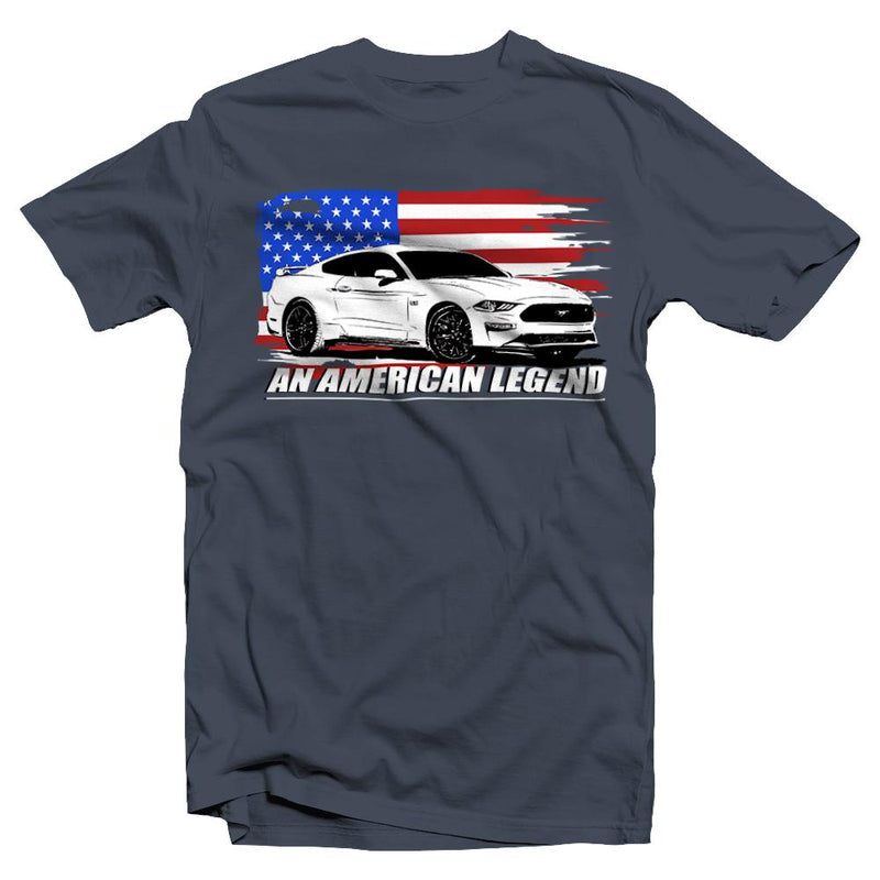 2018 Ford Mustang T-Shirt  | Aggressive Thread Muscle Car Apparel