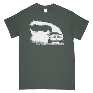 Cummins T-Shirt | 3rd Gen Cummins | Aggressive Thread Diesel Truck Apparel