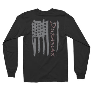 Duramax Front And Back American Flag Long Sleeve T-Shirt