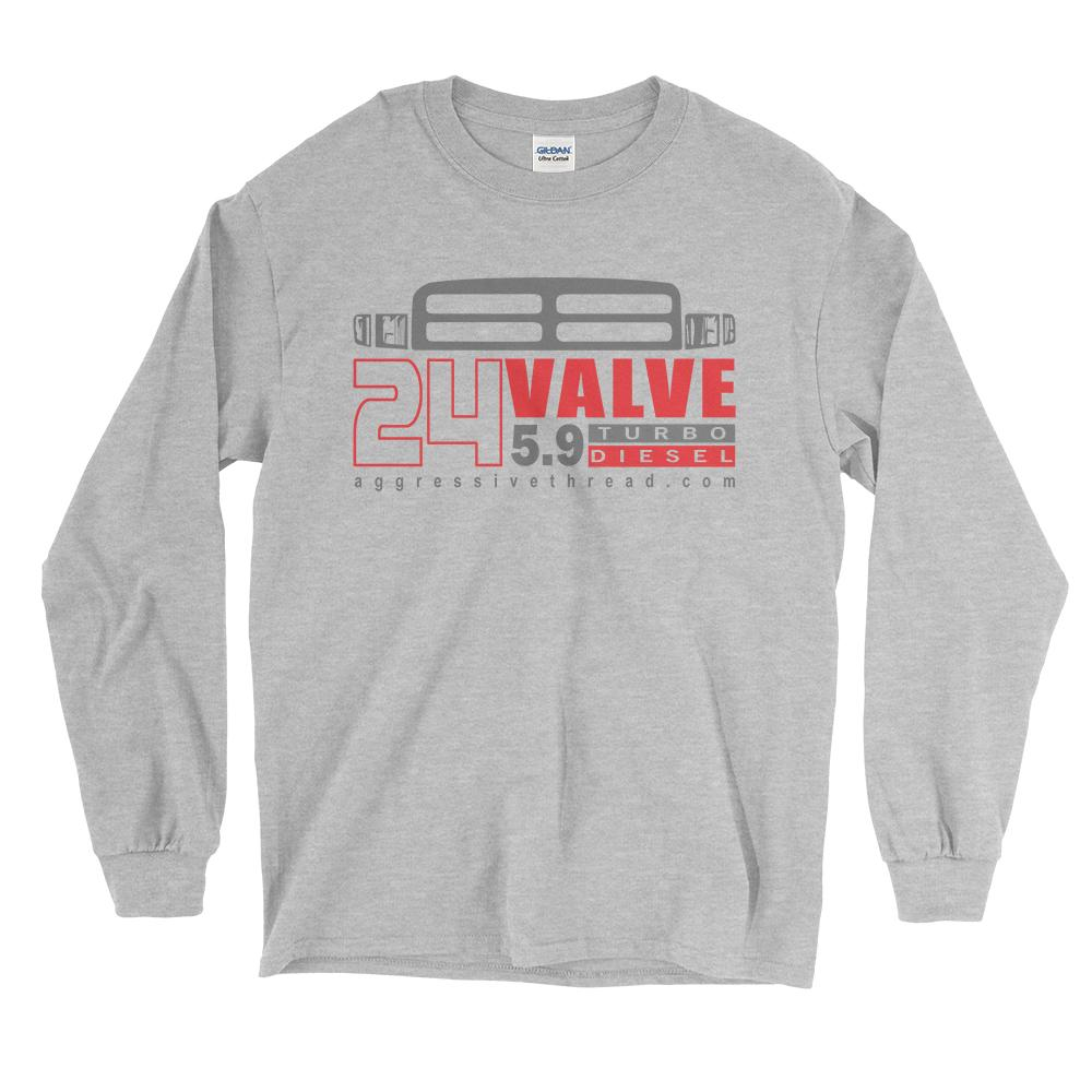 24 Valve Second Gen Turbo Diesel Long Sleeve T-Shirt