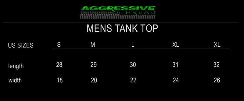LS GM 6.0 Motor Tank Top - Aggressive Thread Diesel Truck T-Shirts