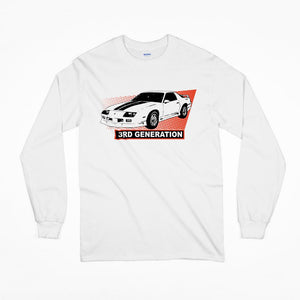 3rd Generation Camaro Long Sleeve T-Shirt