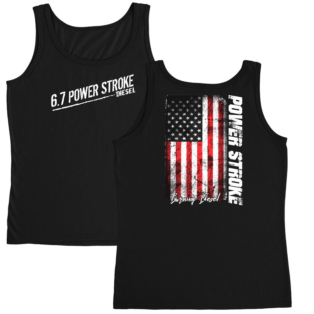 Ladies Womens Powerstroke 6.7 Tank Top: