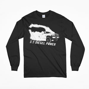 2nd Gen Dodge Ram Cummins Diesel Truck T-Shirt