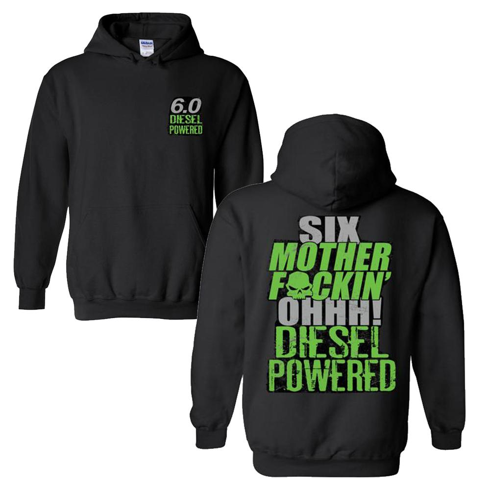 Powerstroke Hoodie Sweatshirt | Power Stroke | Aggressive Thread Diesel Truck Apparel
