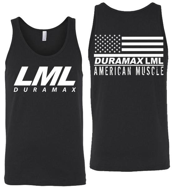 LML Duramax Tank Top | Duramax Shirt | Aggressive Thread Truck Apparel