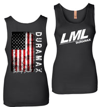 LML Duramax Burning Diesel Womens Tank Top Shirt