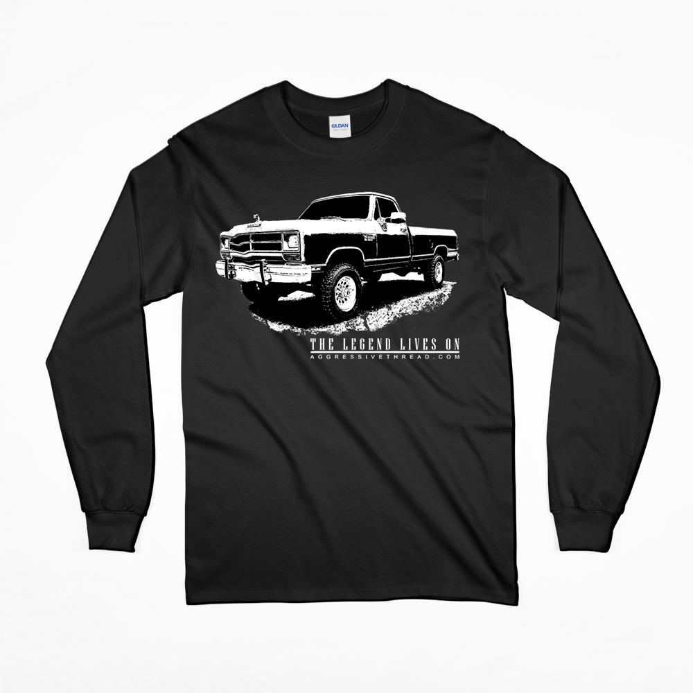 First Gen Dodge Ram The Legend Lives On LS T-Shirt