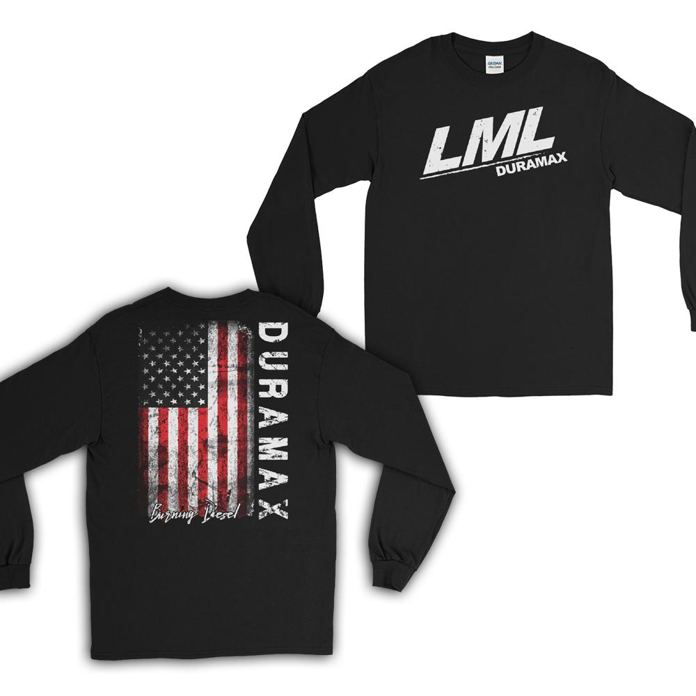 LML Duramax Burning Diesel Long Sleeve T-Shirt