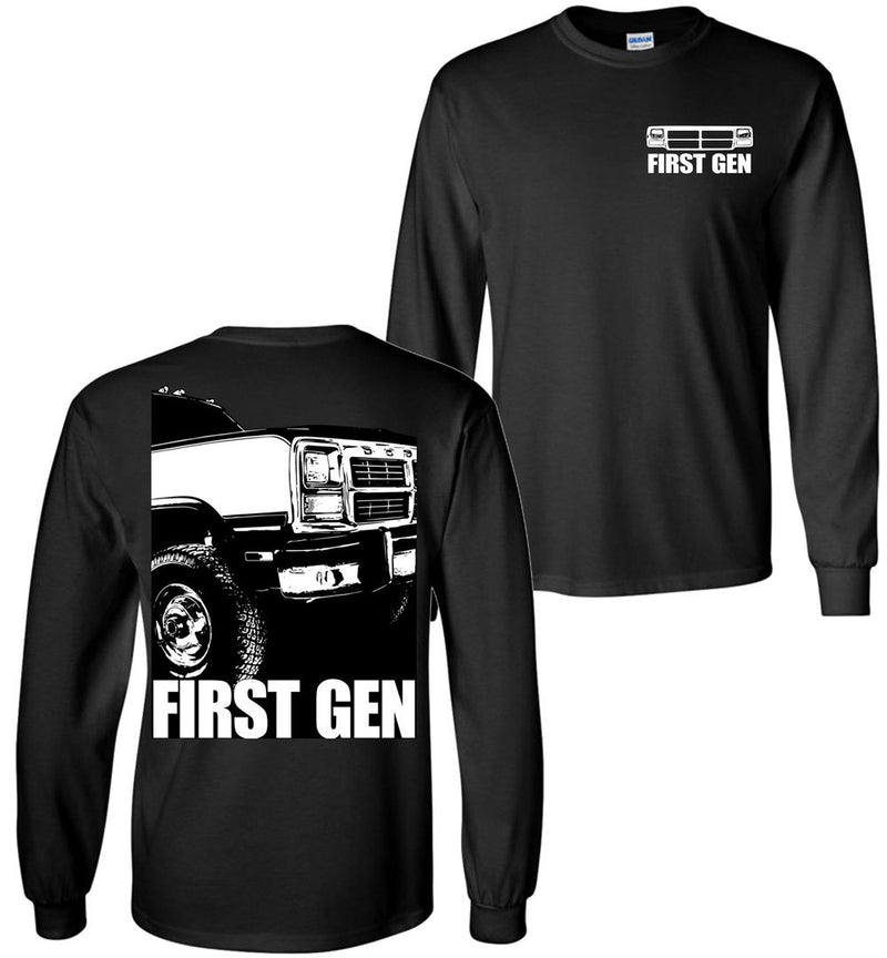 First Gen Dodge Ram Long Sleeve T-Shirt