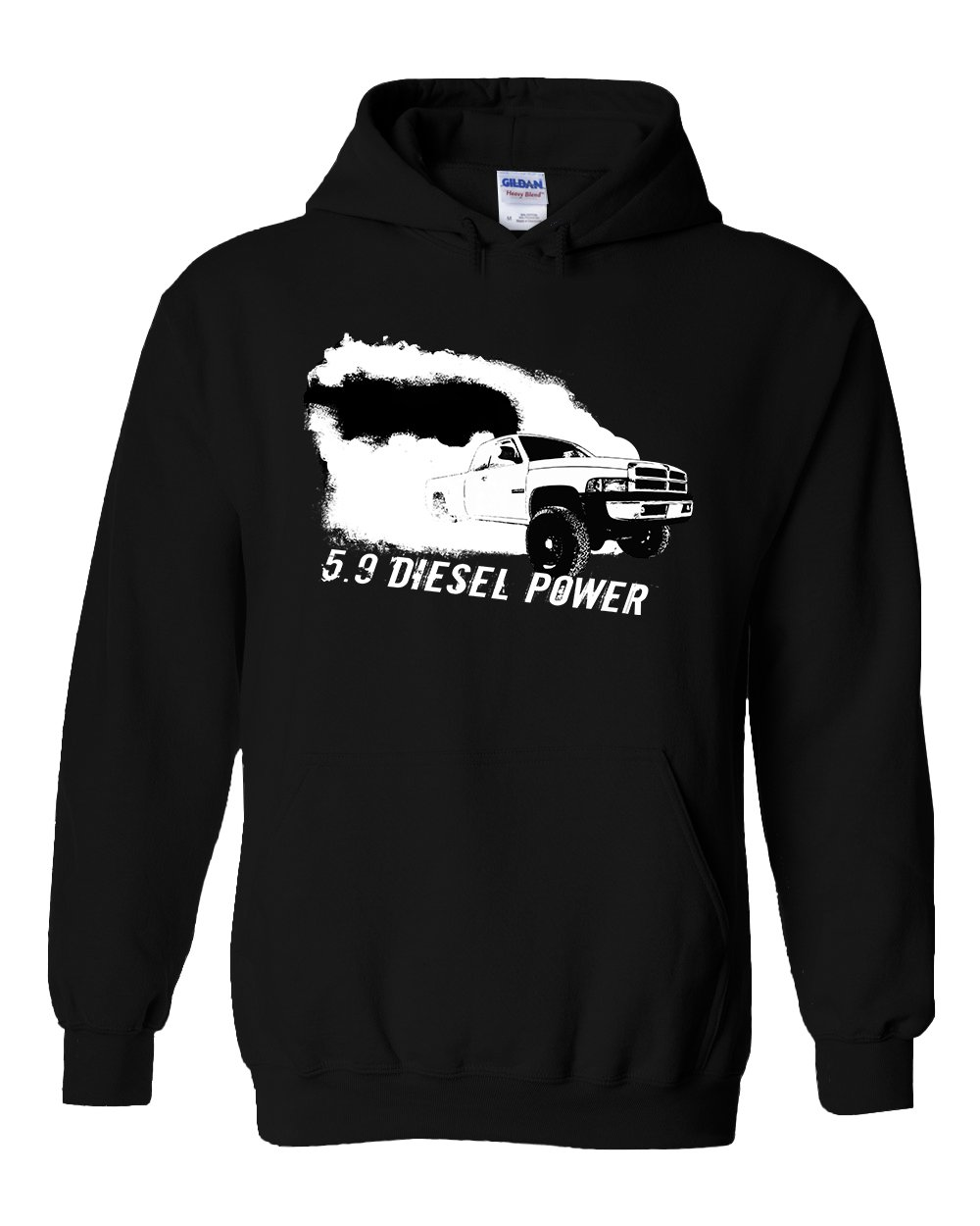 Cummins Hoodie Sweatshirt | 2nd Gen Dodge Ram Hoodie | Aggressive Thread Diesel Truck Apparel