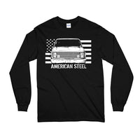 Square Body American Steel Squarebody Long Sleeve T-Shirt