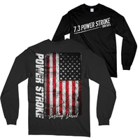 7.3 Power Stroke Powerstroke Burning Diesel Long Sleeve T-Shirt