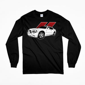 2006-2009 Dodge Charger Long Sleeve T-Shirt