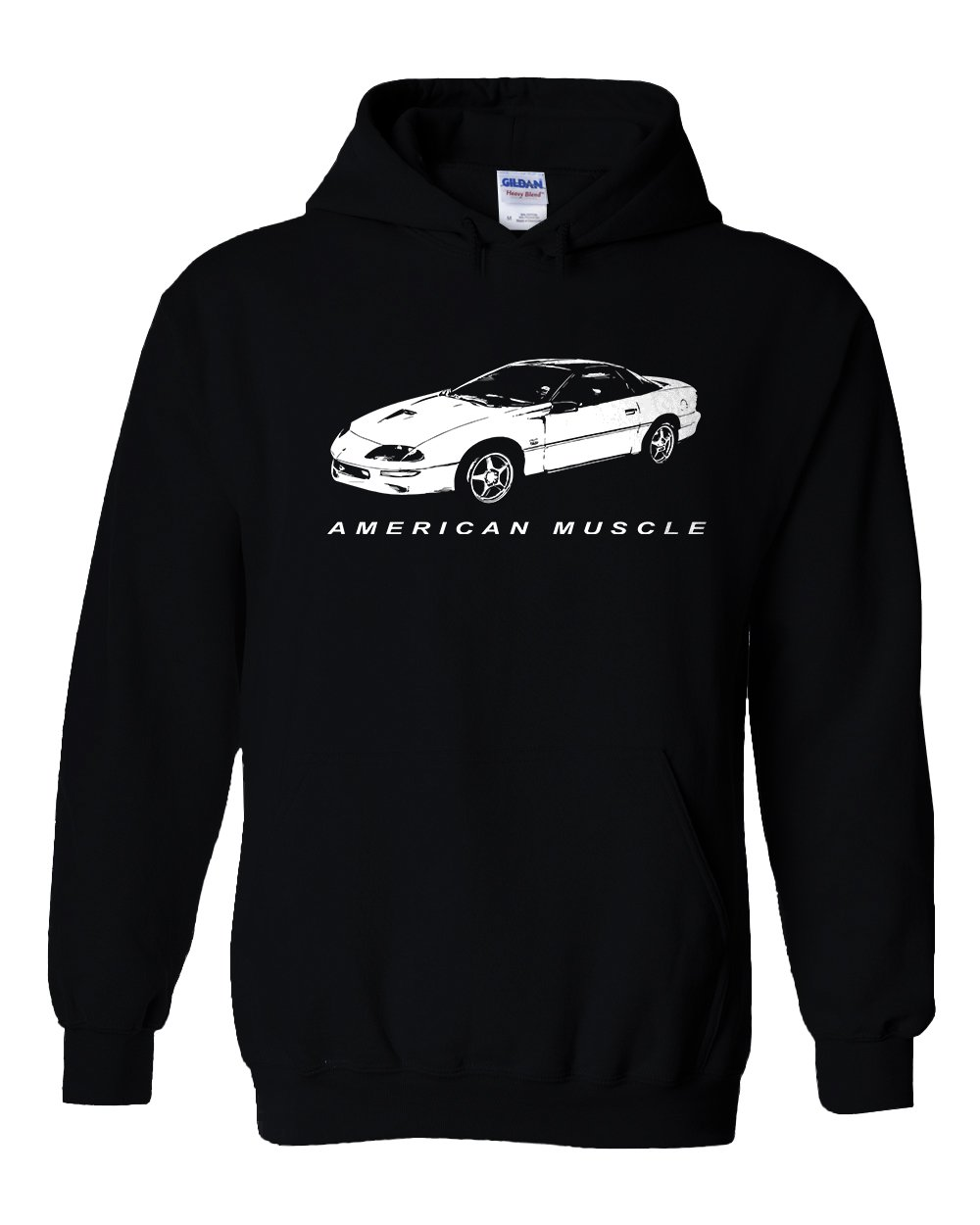 4th Gen Camaro SS Hoodie | Aggressive Thread Muscle Car Apparel