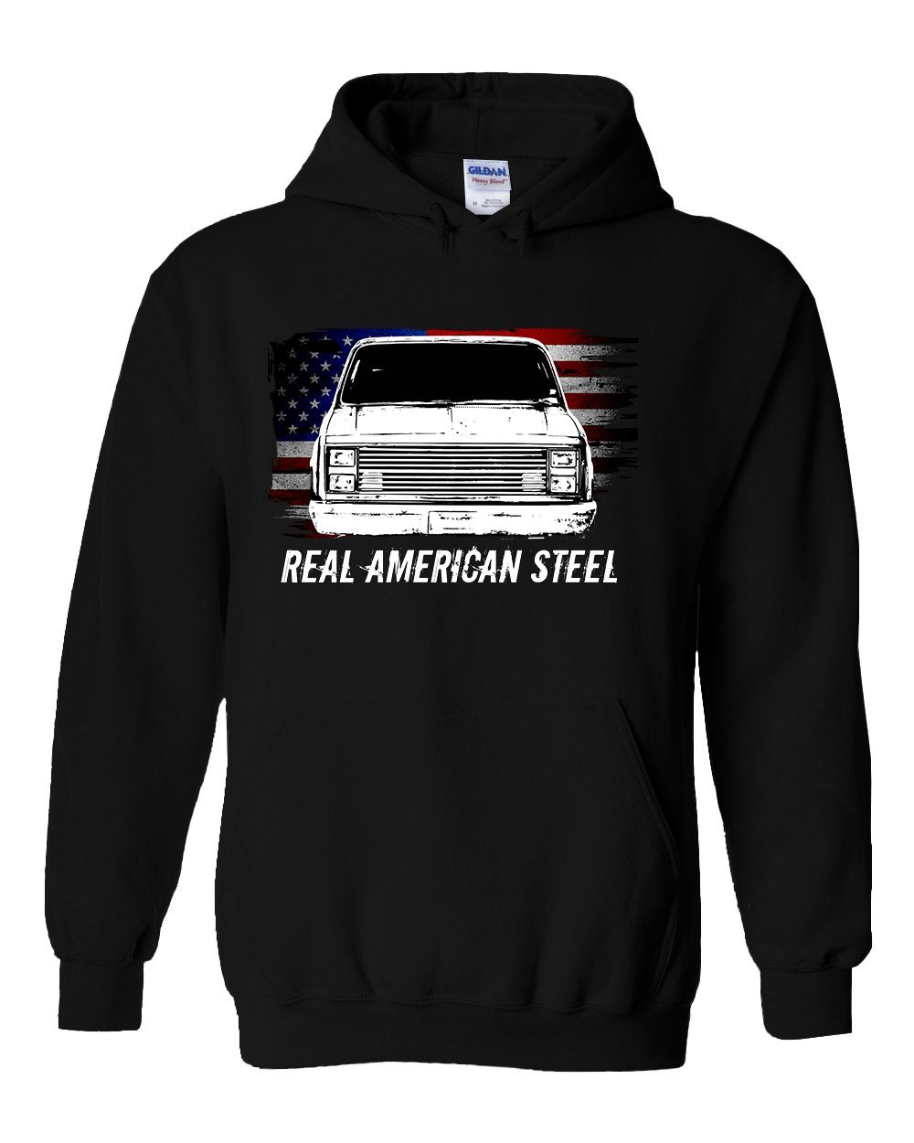 This Square Body Chevy GMC 80's Truck Hoodie is perfect for Crew Cab Squarebody K20 or K30 enthusiasts!