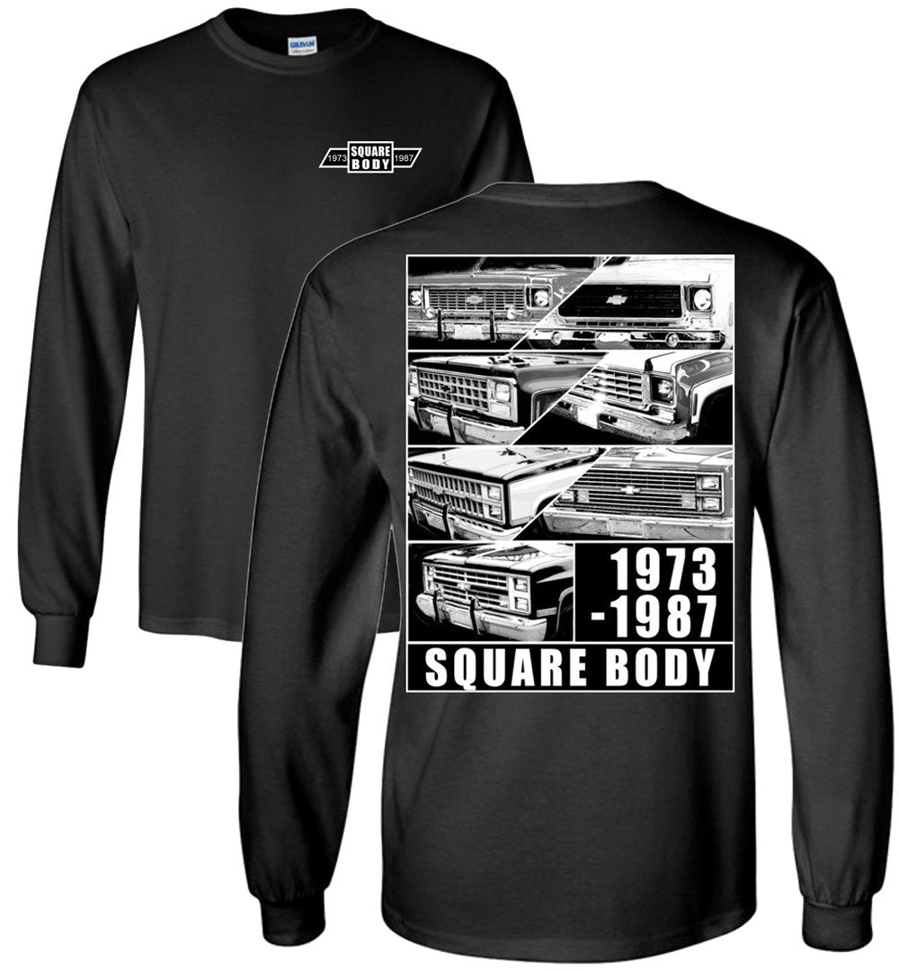 Square Body Truck | Square Body Chevy T-Shirt | Aggressive Thread Truck Apparel