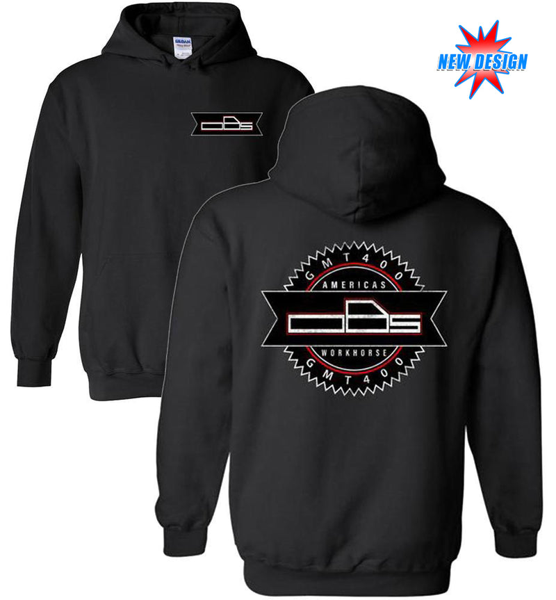 OBS Chevy Truck Hoodie Shirt | Chevy Logo | GMT400 | Aggressive Thread Truck Apparel