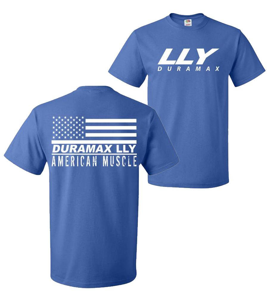 LLY Duramax T-Shirt | Duramax Shirt | Aggressive Thread Truck Apparel