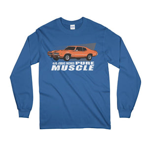 American Muscle Car Vintage GTO Long Sleeve T-Shirt