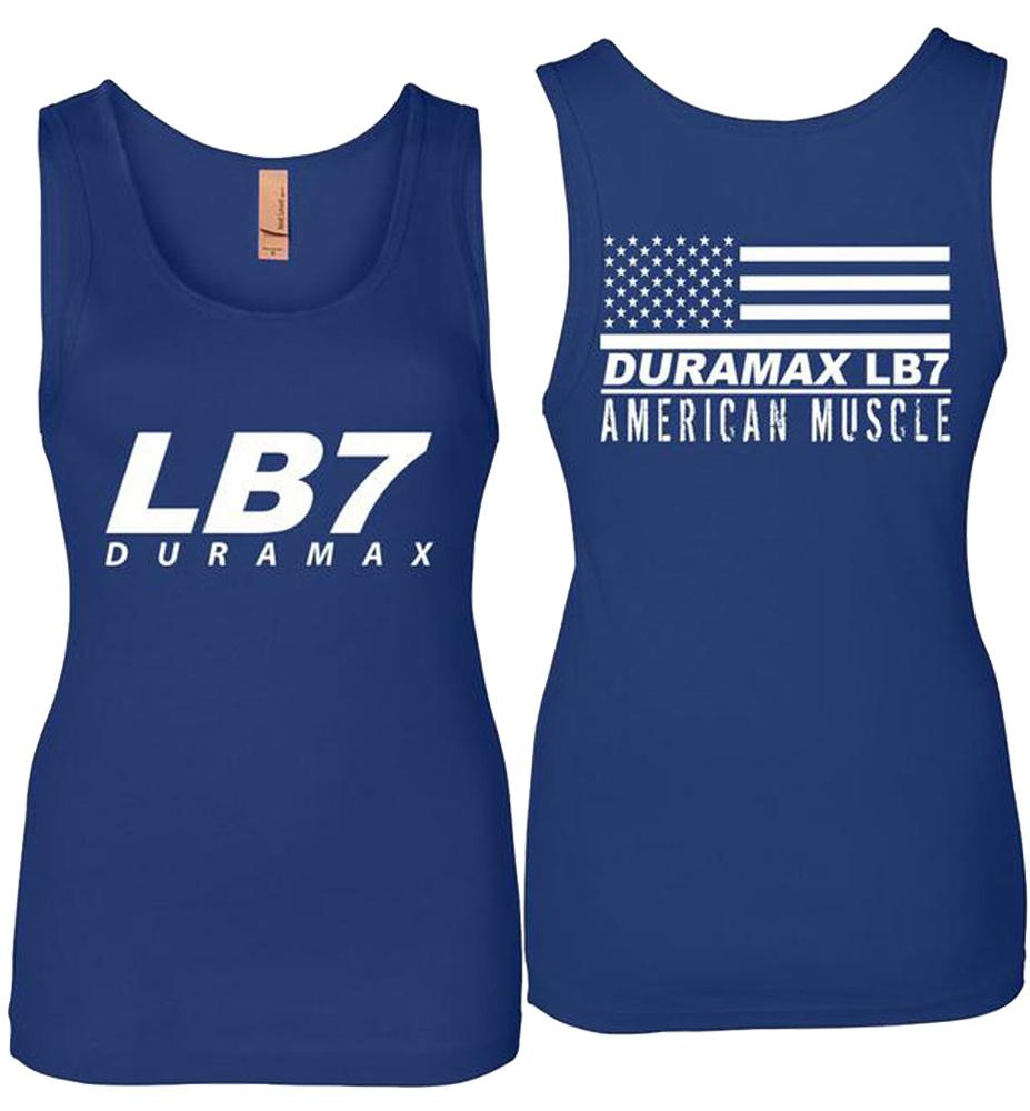LB7 Duramax Tank Top | Duramax Shirt | Aggressive Thread Truck Apparel