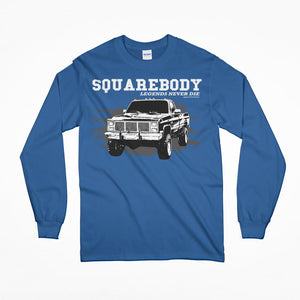Squarebody GMC Chevy Long Sleeve T-Shirt
