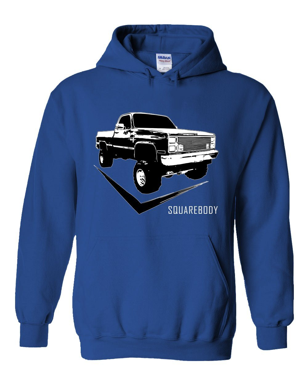 Square Body Chevy C10 Hoodie | Squarebody Sweatshirt |Aggressive Thread Truck Apparel