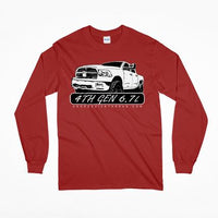 4th Gen Cummins 6.7 Dodge Ram Long Sleeve T-Shirt