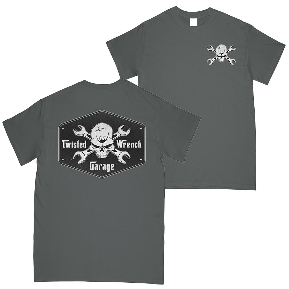 mechanic T-Shirt Garage | Aggressive Thread Mechanic Apparel