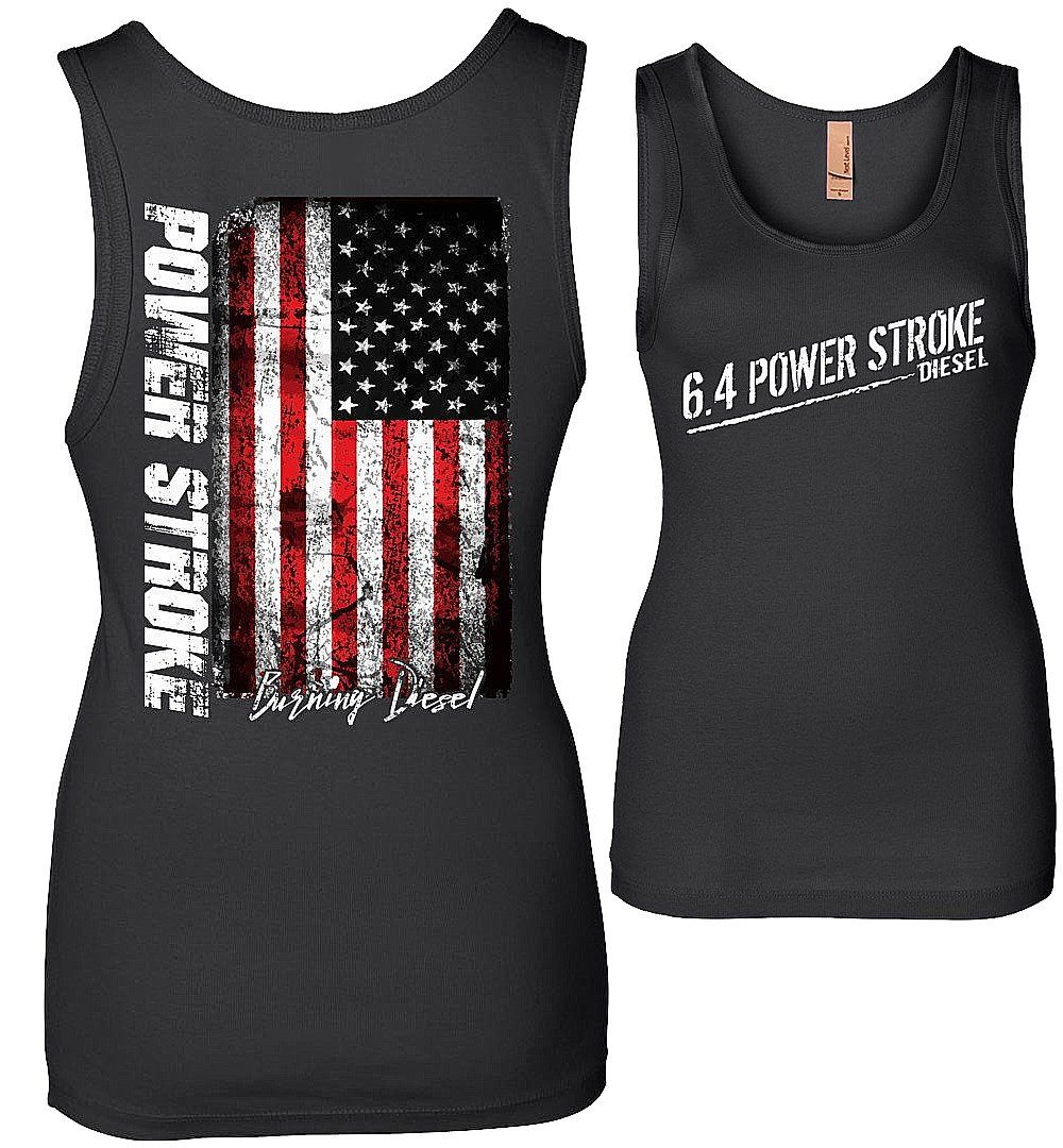 6.4 Power Stroke Powerstroke Diesel Womens Tank Top