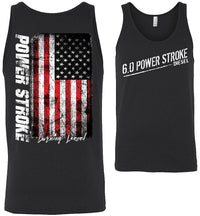 6.0 Power Stroke Powerstroke Burning Diesel Tank Top
