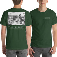 70s Round Eye Square Body | Squarebody Chevy T-Shirt | Aggressive Thread Truck T-Shirts