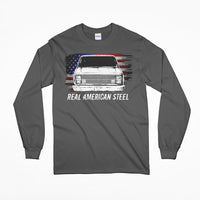 Real American Steel C10 Square Body Long Sleeve T-Shirt