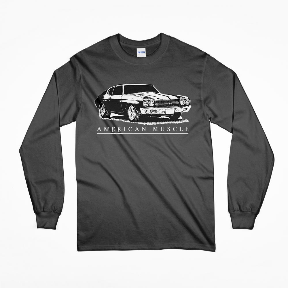 1970 Chevrolet Chevelle T-Shirt from Aggressive Thread