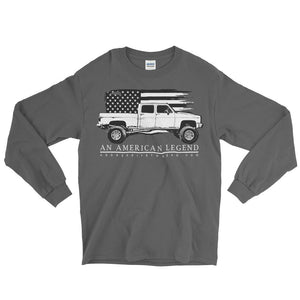 Crew Cab Square Body Chevy American Legend Long Sleeve T-Shirt
