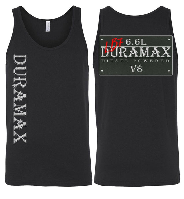 Aggressive Thread LB7 Duramax Tank Top Diesel Truck Apparel