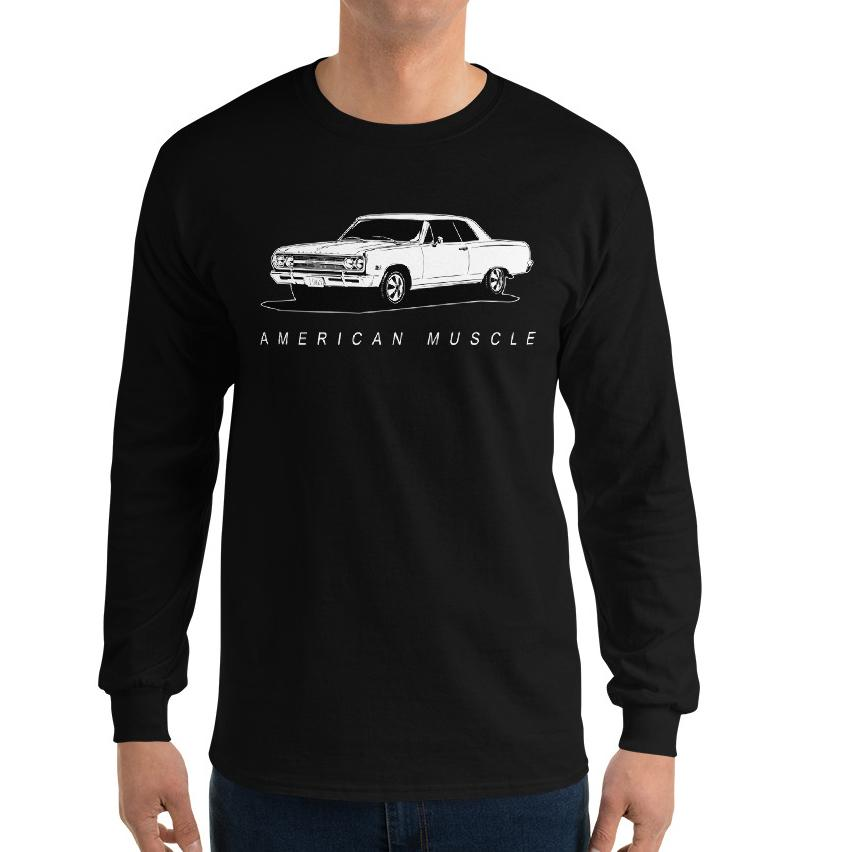 1965 Chevrolet Chevelle T-Shirt | Aggressive Thread Muscle Car Apparel