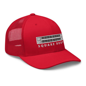 Square Body Hat Trucker Cap