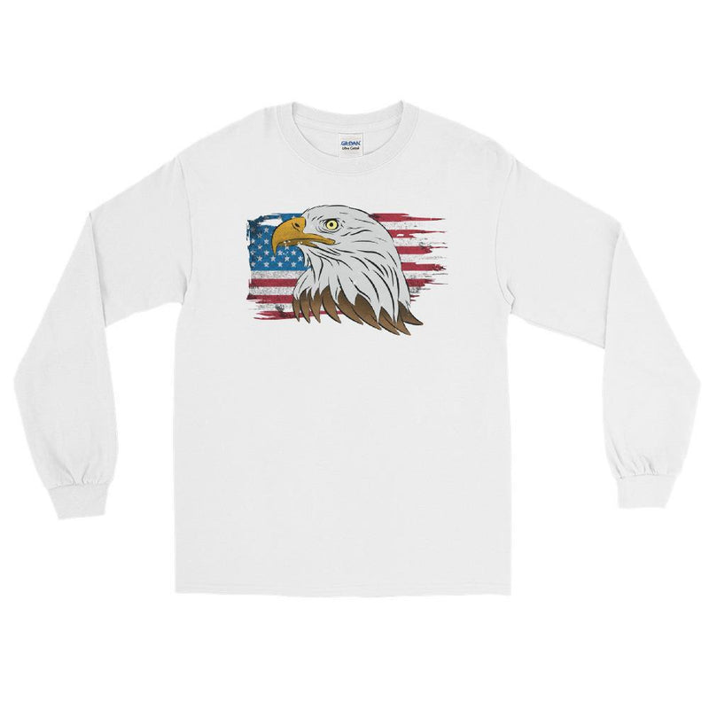 American flag T-Shirt | American flag shirt | Aggressive Thread Patriotic Apparel Collection
