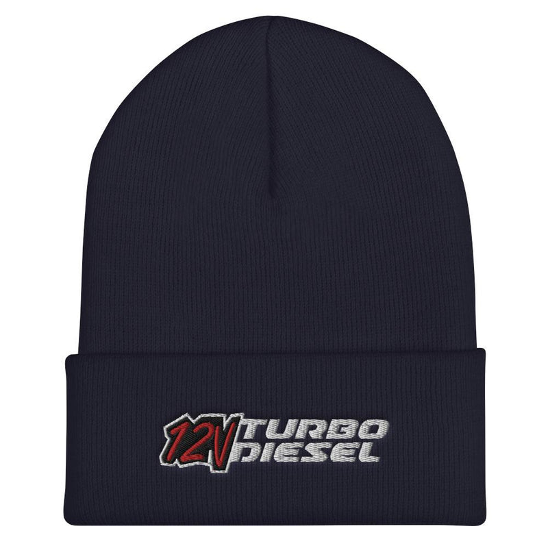 12v Ram Diesel Winter Hat Cuffed Beanie