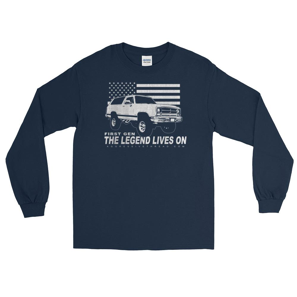 First Gen Dodge Ramcharger Long Sleeve T-Shirt
