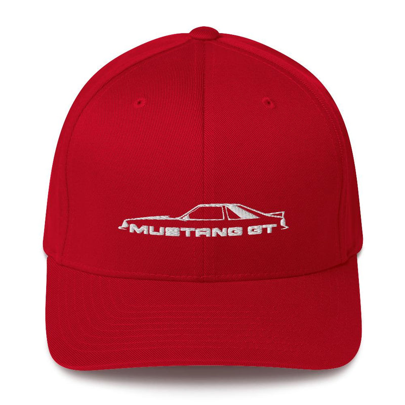 Mustang GT Flexfit Hat Structured Twill Cap (closed back)