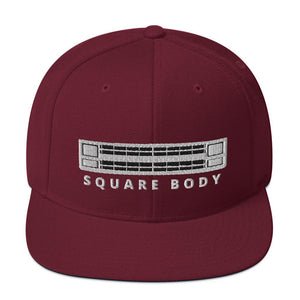 Squarebody Square Body Snapback Hat