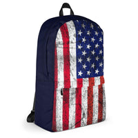 Distressed American Flag Backpack