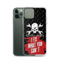 Twisted Wrench Master Mechanic iPhone Case