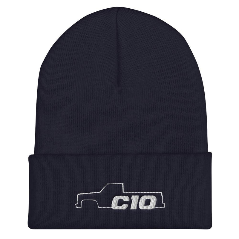 C10 Squarebody Square Body Winter Hat Cuffed Beanie