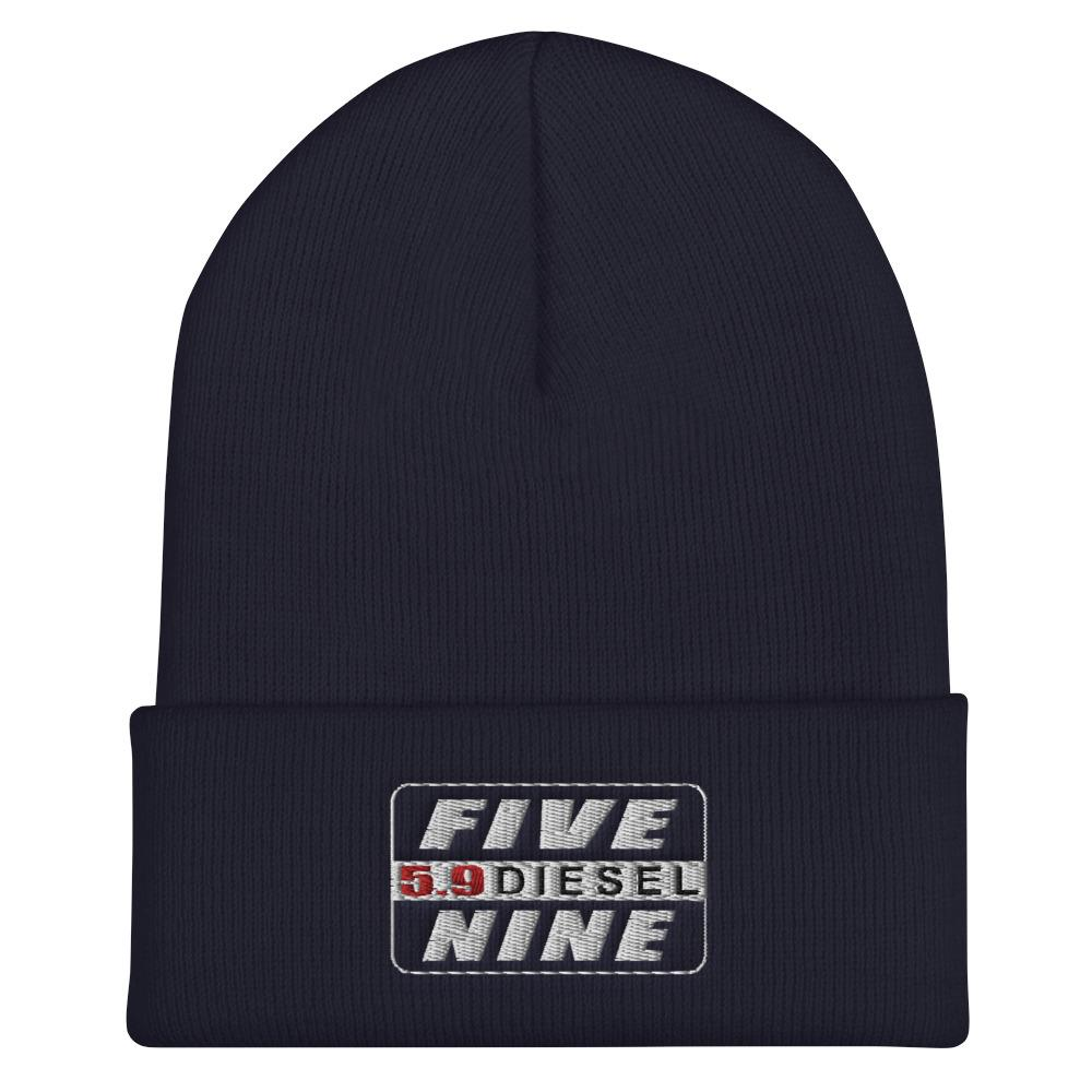 5.9 Ram Diesel Engine Winter Hat Cuffed Beanie