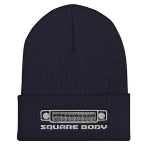 Squarebody Square Body Round Eye Winter Hat Cuffed Beanie