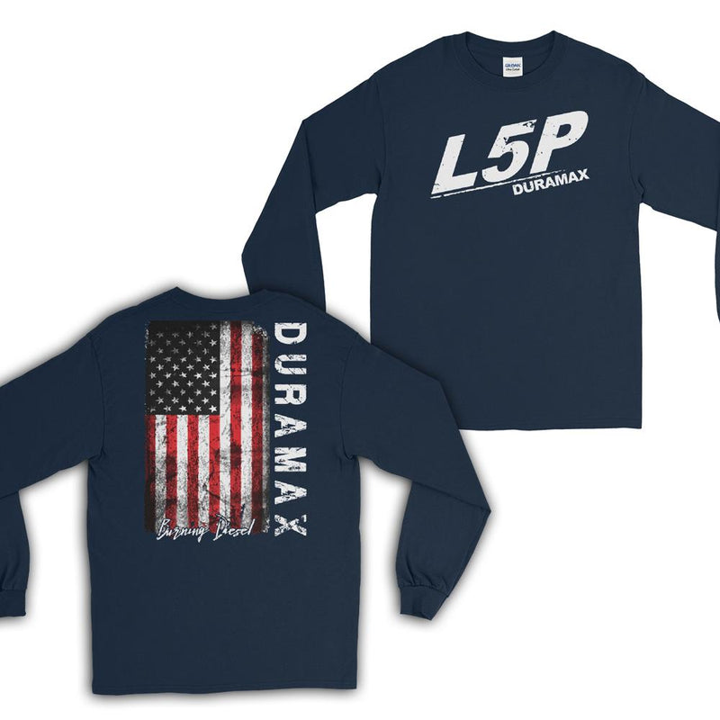 L5P Duramax Burning Diesel Long Sleeve T-Shirt